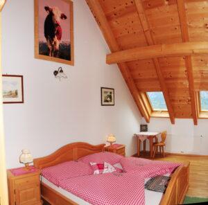 Schlafzimmer Ferienwohnung Attersee