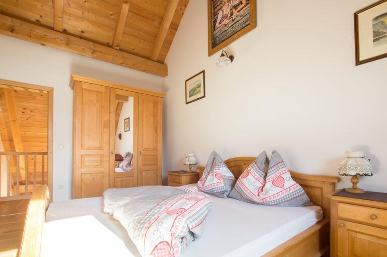 """Schlafzimmer Ferienwohnung """"Mondsee"""""""
