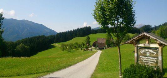 Zufahrt zum Margarethengut