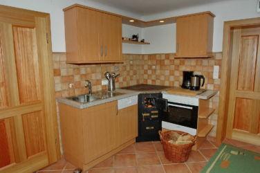 Küche Ferienhaus Margarethe